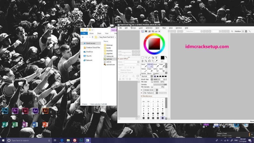 PaintTool SAI 2 Crack + Serial Key 2021 Download Full Version