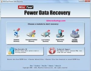 MiniTool Power Data Recovery 9.0 Crack With License Key 2021