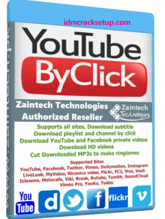 YouTube By Click 2.2.134 Crack + Activation Code 2020 [Latest]